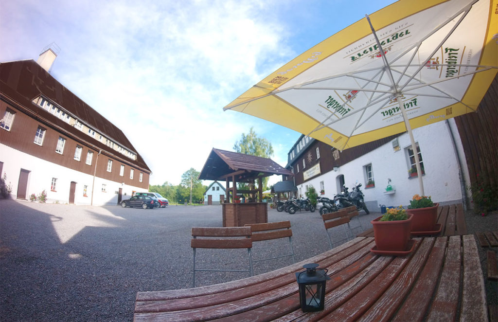 Innenhof vom Waldgashof