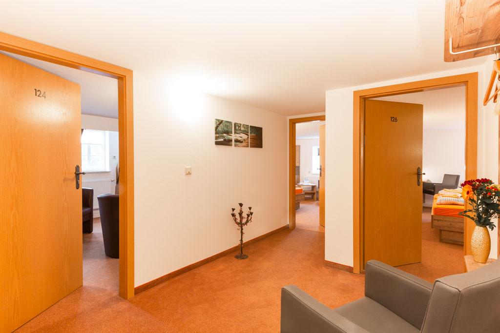 Appartement mit drei Zimmern Kurgasthof Bad Einsiedel