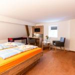 Appartement Schlafzimmer Waldgasthof Seiffen