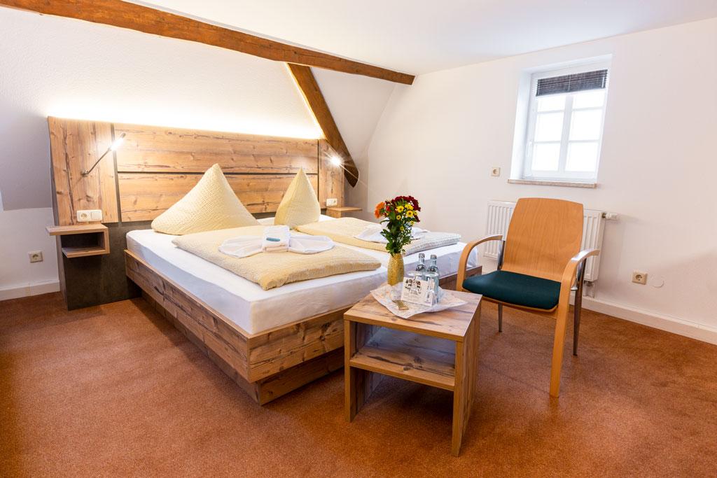 Doppelzimmer Premium der Pension Waldgasthof Seiffen