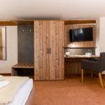 Familienzimmer mit Seperatem Schlafzimmer im Waldgasthof