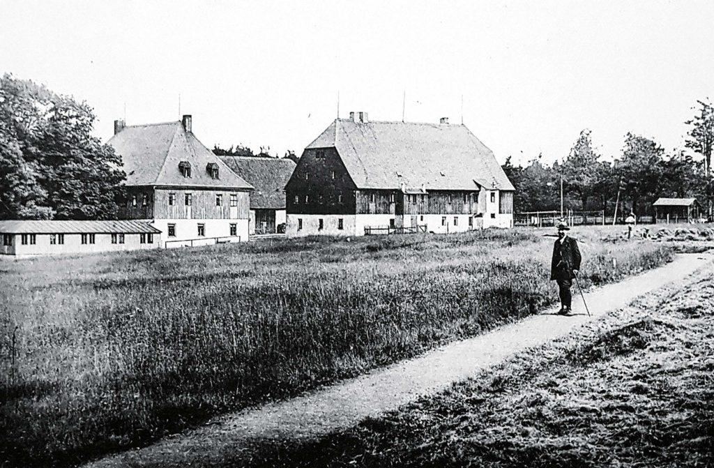 Historische Aufnahme vom Waldgasthof